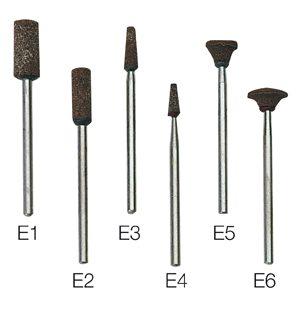 Punte montate per cromo cobalto – E